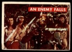 1956 Topps Davy Crockett #28 GRN  An Enemy Falls  Front Thumbnail