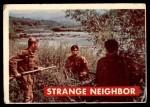 1956 Topps Davy Crockett #35 GRN  Strange Neighbor  Front Thumbnail