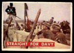 1956 Topps Davy Crockett #74 GRN  Straight For Davy  Front Thumbnail
