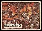 1962 Topps Civil War News #40   Bullets of Death Front Thumbnail