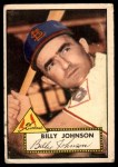 1952 Topps #83  Billy Johnson  Front Thumbnail