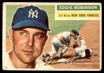 1956 Topps #302  Eddie Robinson  Front Thumbnail