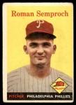1958 Topps #474  Roman Semproch  Front Thumbnail
