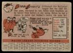 1958 Topps #419  Bobby Shantz  Back Thumbnail