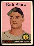 1958 Topps #206  Bob Shaw  Front Thumbnail
