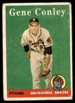 1958 Topps #431  Gene Conley  Front Thumbnail