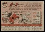 1958 Topps #425  Sammy Esposito  Back Thumbnail
