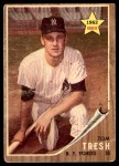 1962 Topps #31  Tom Tresh  Front Thumbnail
