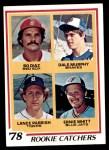 1978 Topps #708   -  Dale Murphy / Bo Diaz / Lance Parrish / Ernie Whitt Rookie Catchers   Front Thumbnail