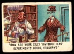 1959 Topps / Bubbles Inc You'll Die Laughing #55   How are your silly Front Thumbnail