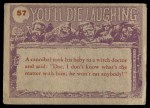 1959 Topps / Bubbles Inc You'll Die Laughing #57   Would you wrap it Back Thumbnail