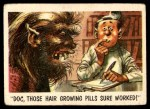1959 Topps / Bubbles Inc You'll Die Laughing #7   Doc those hair growing pills Front Thumbnail