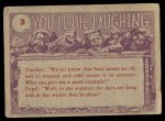 1959 Topps / Bubbles Inc You'll Die Laughing #3   I'd like to buy Back Thumbnail