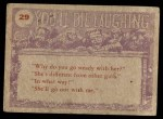 1959 Topps / Bubbles Inc You'll Die Laughing #29   But daddy Back Thumbnail