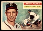 1956 Topps #312  Andy Pafko  Front Thumbnail