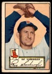 1952 Topps #43  Ray Scarborough  Front Thumbnail