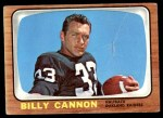 1966 Topps #106  Billy Cannon  Front Thumbnail