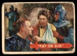 1957 Topps Robin Hood #2   Pay Or Else Front Thumbnail