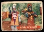 1957 Topps Robin Hood #46   Robin In Armor Front Thumbnail