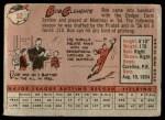 1958 Topps #52 WT Roberto Clemente  Back Thumbnail