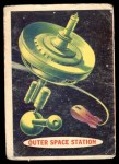 1957 Topps Space Cards #68   Outer Space Station Front Thumbnail