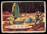 1957 Topps Space Cards #33   First Men on the Moon  Front Thumbnail