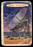 1957 Topps Space Cards #9   Radio Telescope  Front Thumbnail