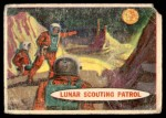 1957 Topps Space Cards #35   Lunar Scouting Patrol Front Thumbnail