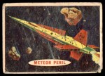 1957 Topps Space Cards #23   Meteor Peril Front Thumbnail