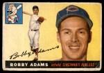 1955 Topps #178  Bobby Adams  Front Thumbnail