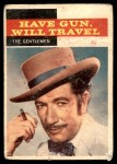 1958 Topps TV Westerns #31   The Gentleman  Front Thumbnail