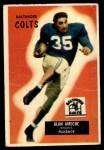 1955 Bowman #8  Alan Ameche  Front Thumbnail