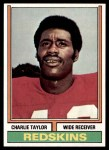 1974 Topps #510  Charlie Taylor  Front Thumbnail