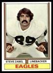 1974 Topps #428  Steve Zabel  Front Thumbnail