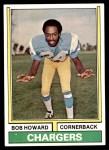 1974 Topps #483  Bob Howard  Front Thumbnail