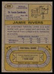 1974 Topps #508  Jamie Rivers  Back Thumbnail