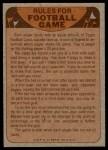 1974 Topps  Checklist   Oilers Back Thumbnail