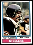 1974 Topps #410  Andy Russell  Front Thumbnail