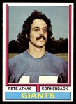 1974 Topps #494  Pete Athas  Front Thumbnail