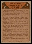 1974 Topps  Checklist   New Orleans Saints Team Back Thumbnail