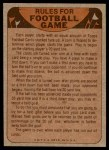 1974 Topps  Checklist   Chiefs Back Thumbnail