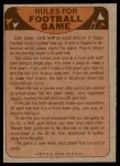 1974 Topps  Checklist   Browns Back Thumbnail