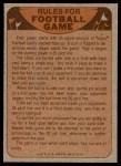 1974 Topps  Checklist   Bears Back Thumbnail