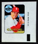 1969 Topps Decals  Tim McCarver  Front Thumbnail