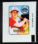 1969 Topps Decals  Tommy Helms  Front Thumbnail