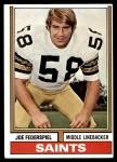 1974 Topps #417  Joe Federspiel  Front Thumbnail