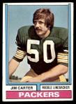 1974 Topps #472  Jim Carter  Front Thumbnail