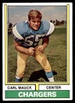 1974 Topps #477  Carl Mauck  Front Thumbnail