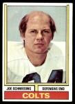 1974 Topps #499  Joe Schmiesing  Front Thumbnail