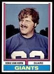 1974 Topps #507  Doug Van Horn  Front Thumbnail